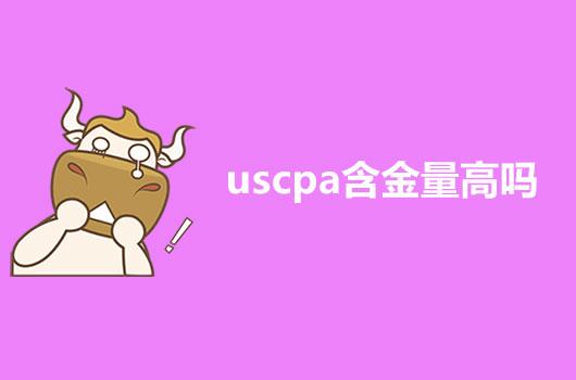 2021年的USCPA含金量高吗?其吃香吗?